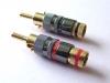 Black Rhodium : Locking plug for 6~8 mm. cable